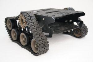 Devastator Tank Mobile Robot Platform - ready assembled robot back