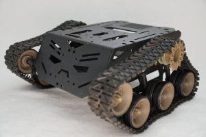 Devastator Tank Mobile Robot Platform - ready assembled robot left front