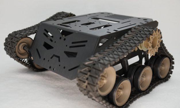 Devastator Tank mobile Roboter Plattform Bausatz – Zusammenbau