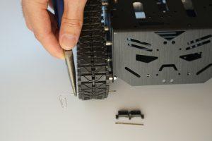 Devastator Tank Mobile Robot Platform - track adjustment