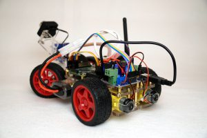 SunFounder Roboterbausatz Smart Video Car Kit Heck