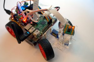 SunFounder Roboterbausatz Smart Video Car Kit Raspberry Pi Kamera