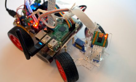 SunFounder Roboterbausatz – Smart Video Car Raspberry Pi Kamera Modul