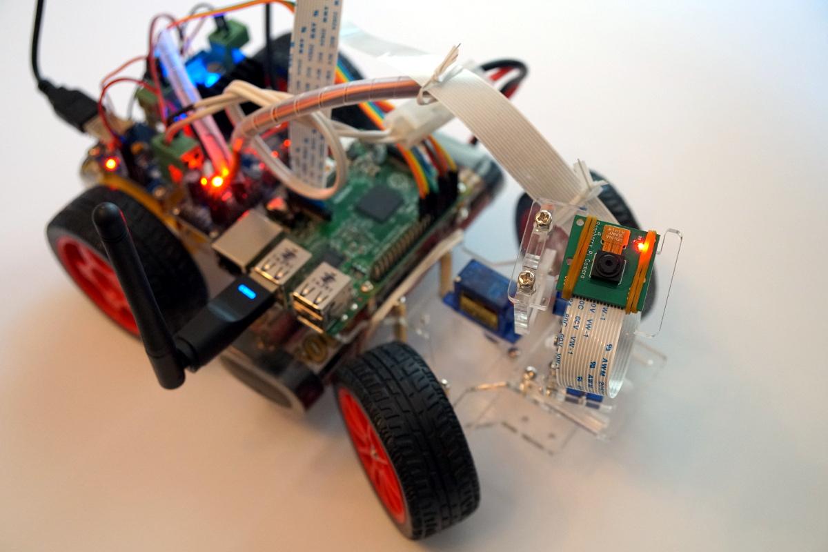 sunfounder roboterbausatz smart video car raspberry pi. Black Bedroom Furniture Sets. Home Design Ideas