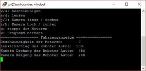 SunFounder Roboterbausatz Smart Video Car Kit Steuerprogramm