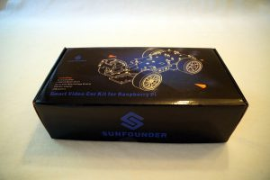 SunFounder Roboterbausatz Smart Video Car Kit Raspberry Pi Box 1