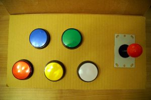 Toy robot control panel - Joystick 06