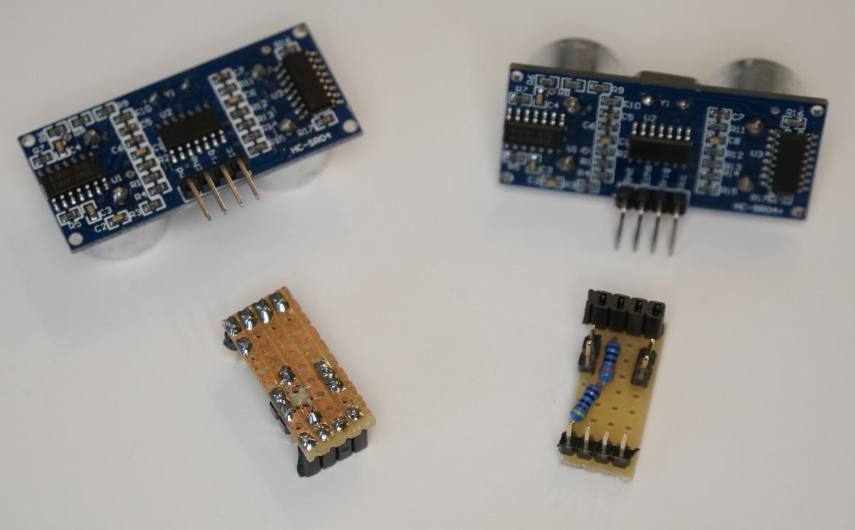 Entfernungsmessung Mit Ultraschall : Entfernungsmessung mit dem hc sr04 ultraschall sensor und einem