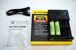 Nitecore i4 Intellicharge Ladegerät für Li-Ion
