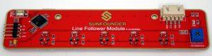 SunFounder Picar-S - Line Follower Modul Oberseite