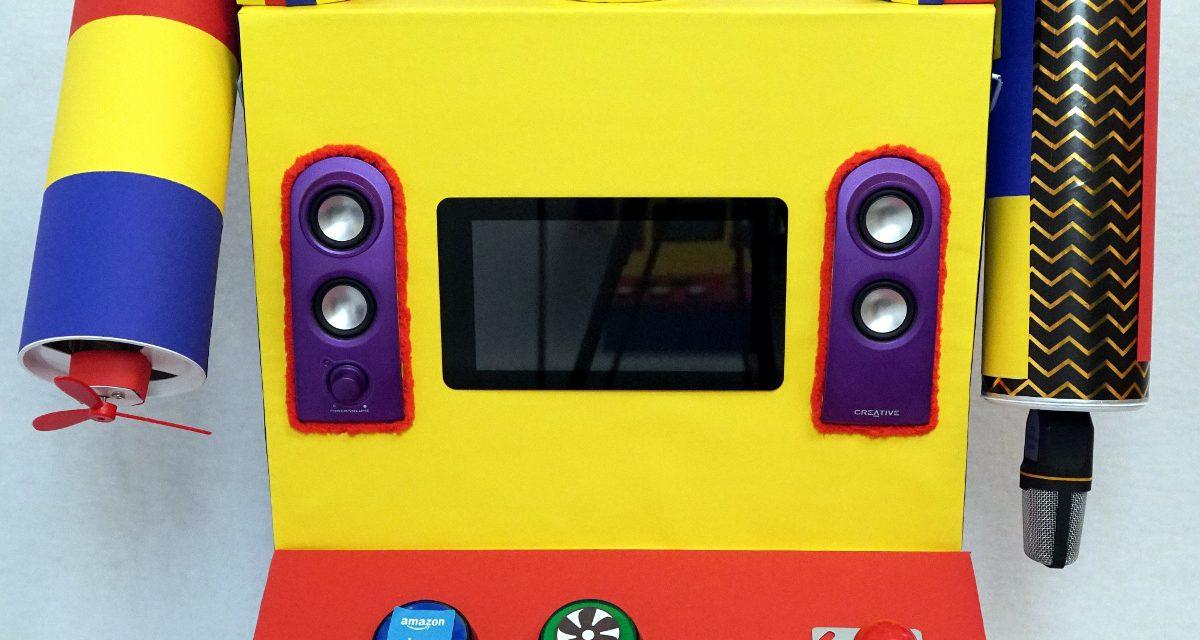Raspberry Pi Kinder Roboter – Gestaltung des Körpers