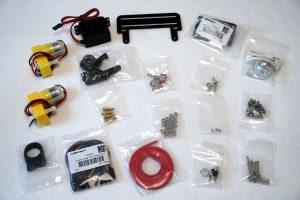 DFROBOT Mobile Platform - Komponenten des Roboter Bausatz