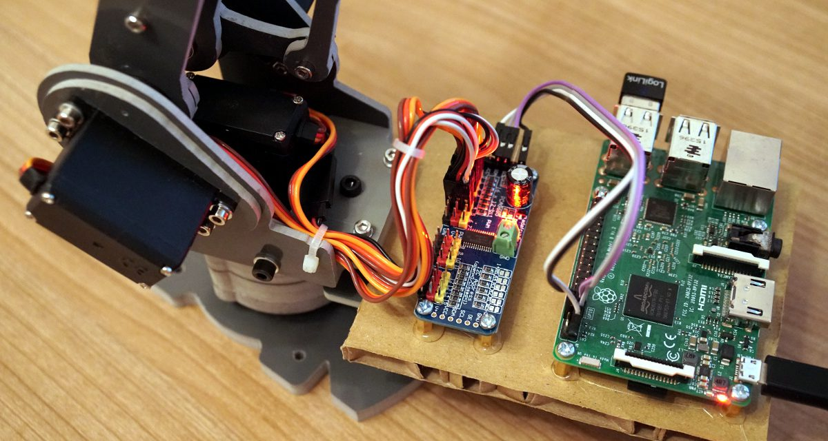 SainSmart 6-Axis Desktop Robotic Arm – Raspberry Pi software installation