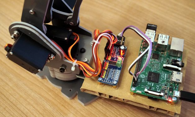 SainSmart 6-Achsen Desktop Roboter Arm – Raspberry Pi Software installation