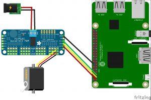 SainSmart 6 Achsen Desktop Roboter Arm - Verkabelung
