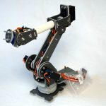 SainSmart 6-Axis Desktop Robotic Arm – Raspberry Pi web interface test