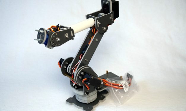 SainSmart 6-Axis Desktop Robotic Arm – Raspberry Pi