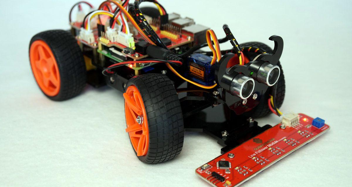 SunFounder Roboter Auto PiCar-S Bausatz – Verkabelung und ...