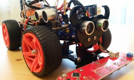 SunFounder Roboter Auto PiCar-S Bausatz – zusätzliche Ultraschall Sensor