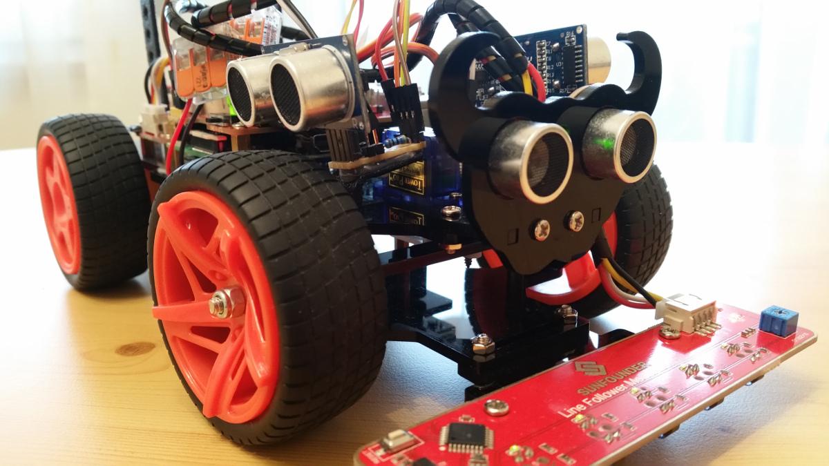 Ultraschall Entfernungsmesser Kinder : Sunfounder roboter auto picar s bausatz u zusätzliche ultraschall
