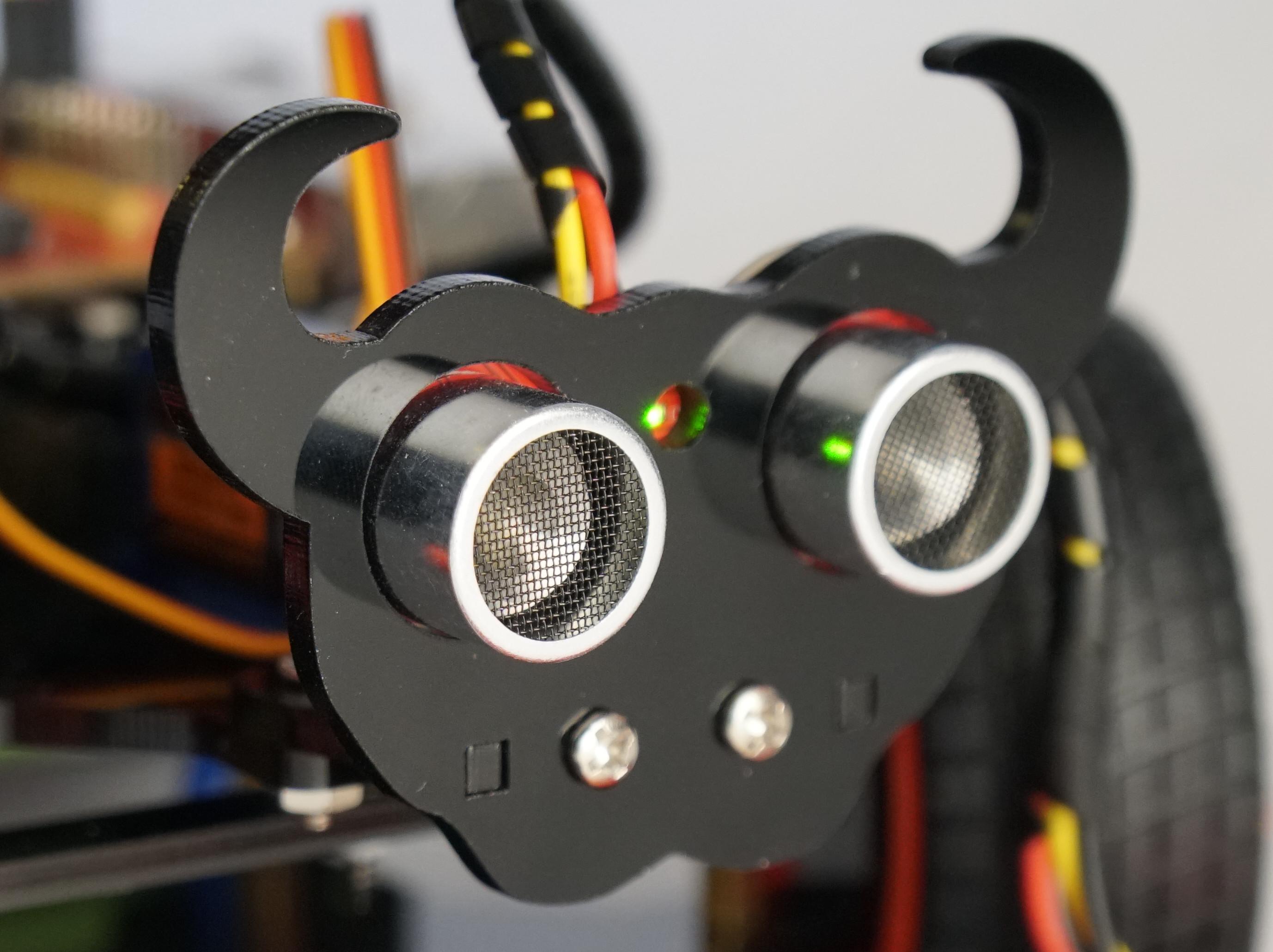 Ultraschall Entfernungsmesser Selber Bauen : Entfernungsmessung mit dem hc sr ultraschall sensor und einem