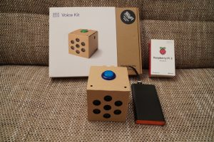 Raspberry Pi Google AIY voice kit