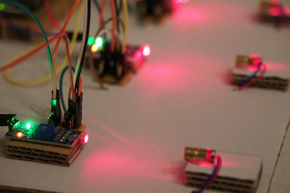 Laser Entfernungsmesser Raspberry : Rundenzeit messen u raspberry pi lichtschranke einführung