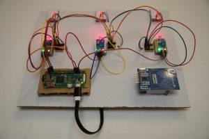 Raspberry Pi Laser-Lichtschranke Prototyp
