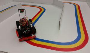 Roboter Auto Bausatz PiCar S - Labyrinth 1