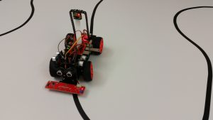 Roboter Auto Bausatz PiCar S - Line Follower Kurs 1