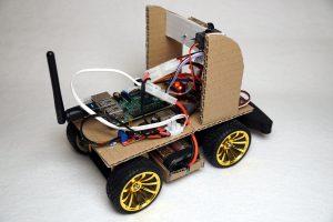 Autonom fahrendes Raspberry Pi KI Roboter Auto - Akku