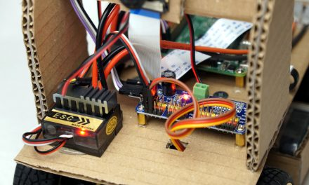 Autonom fahrendes Raspberry Pi KI Roboter Auto – Software
