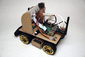 Autonom fahrendes Raspberry Pi KI Roboter Auto - Hardware