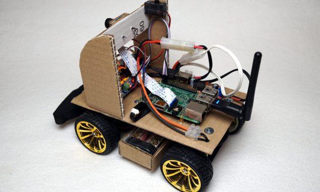 Autonom fahrendes Raspberry Pi KI Roboter-Auto – Elektronik Donkeycar