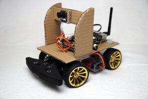 Autonom fahrendes Raspberry Pi KI Roboter Auto - Model