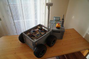Big Rob - Basis Chassis mit der gesamten Elektronik und dem Antrieb