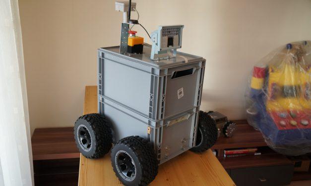 RASPBERRY PI ROBOTER – BIG ROB modularer Aufbau 1-2