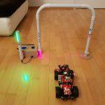 Rundenzeit messen – Raspberry Pi mobile Lichtschranke
