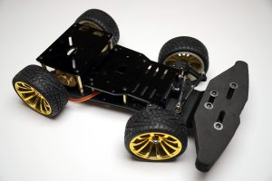 Self-Driving AI Raspberry Pi Roboter Auto - Chassis