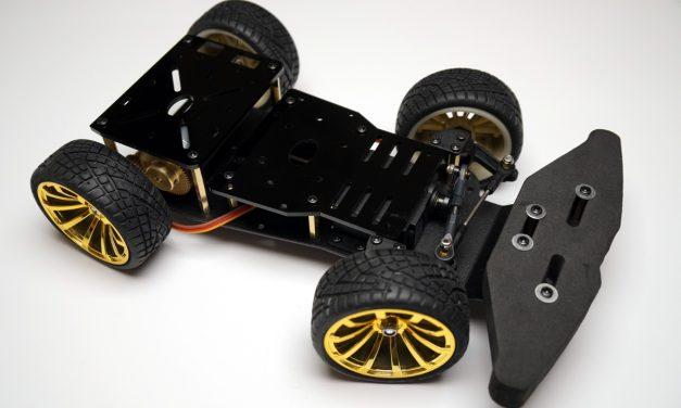 Autonom fahrendes Raspberry Pi KI Roboter Auto – Chassis