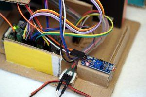 Roboter Auto Rundenzeit messen - LM393 Photowiderstand