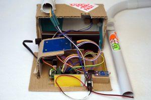 Roboter Auto Rundenzeit messen - Elektronik