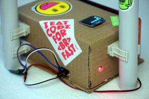 Roboter Auto Rundenzeit messen - Photozelle und OLED Display