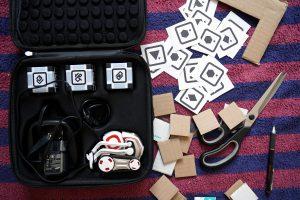 ANKI COZMO Roboter mit custom Marker