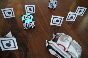 ANKI COZMO Roboter mit custom Marker Test