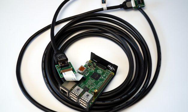 Raspberry Pi Kamera HDMI Kabel Verlaengerung