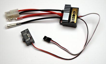 Raspberry Pi elektronischer Fahrtenregler