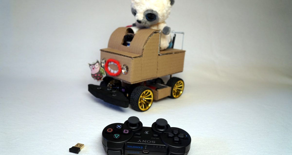 Autonomously driving Raspberry Pi KI robot car – training the neural network