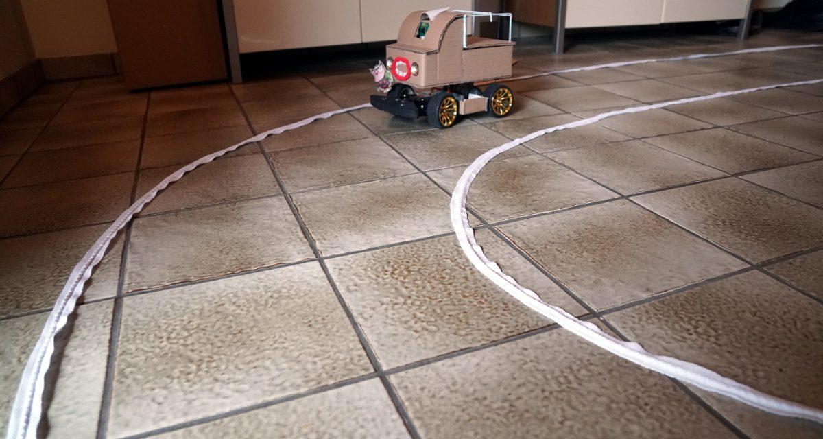 Autonom fahrendes Raspberry Pi KI Roboter-Auto – Trainings Vorbereitungen