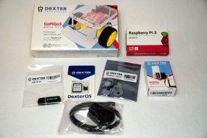 Raspberry Pi Roboter GoPiGo Starter Kit